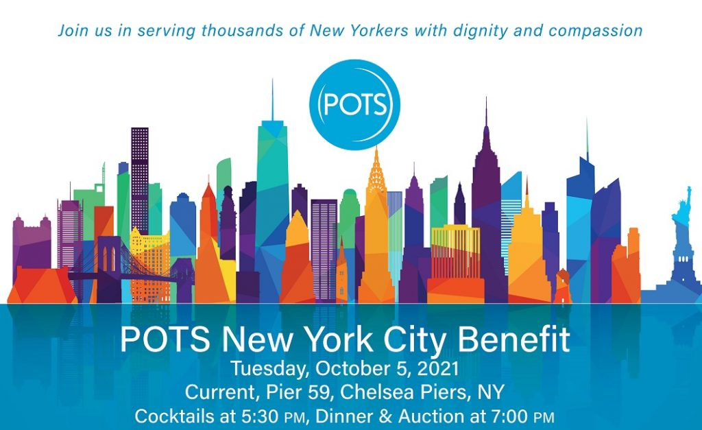 POTS NYC Benefit October 2021